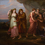 Metropolitan Museum: part 1 - Angelika Kauffmann - Telemachus and the Nymphs of Calypso