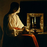 Metropolitan Museum: part 1 - Georges de La Tour - The Penitent Magdalen