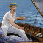 Metropolitan Museum: part 1 - Édouard Manet - Boating