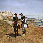 Metropolitan Museum: part 1 - Ernest Meissonier - A General and His Aide-de-camp