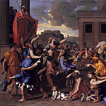 Metropolitan Museum: part 1 - Nicolas Poussin - The Abduction of the Sabine Women