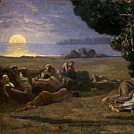 Metropolitan Museum: part 1 - Pierre Puvis de Chavannes - Sleep