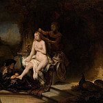 Metropolitan Museum: part 1 - Rembrandt (Dutch, Leiden 1606–1669 Amsterdam) - The Toilet of Bathsheba (attr)