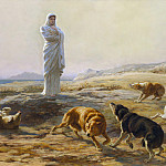 Metropolitan Museum: part 1 - Briton Riviere - Pallas Athena and the Herdsman's Dogs