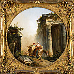 Metropolitan Museum: part 1 - Hubert Robert - The Ruins