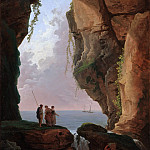 Metropolitan Museum: part 1 - Hubert Robert - The Mouth of a Cave