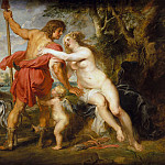 Metropolitan Museum: part 1 - Peter Paul Rubens - Venus and Adonis