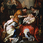 Metropolitan Museum: part 1 - Francesco Solimena - The Birth of the Virgin