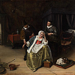 Metropolitan Museum: part 1 - Jan Steen - The Lovesick Maiden