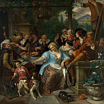 Metropolitan Museum: part 1 - Jan Steen - Merry Company on a Terrace