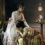 Metropolitan Museum: part 1 - Alfred Stevens - After the Ball