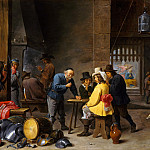 David Teniers the Younger - Guardroom with the Deliverance of Saint Peter, Metropolitan Museum: part 1