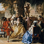 Metropolitan Museum: part 1 - Giovanni Domenico Tiepolo - A Dance in the Country