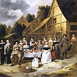 Metropolitan Museum: part 1 - Gillis van Tilborgh - Group Portrait: A Wedding Celebration
