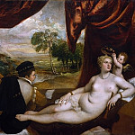 Metropolitan Museum: part 1 - Titian and Workshop - Venus and the Lute Player