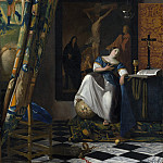 Metropolitan Museum: part 1 - Johannes Vermeer - Allegory of the Catholic Faith