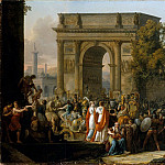 Metropolitan Museum: part 1 - Carle Vernet (French, Bordeaux 1758–1836 Paris) - The Triumph of Aemilius Paulus