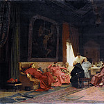 The Missionary's Adventures, Jehan Georges Vibert