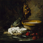 Metropolitan Museum: part 1 - Antoine Vollon - Still Life with Cheese