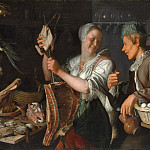 Metropolitan Museum: part 1 - Peter Wtewael - Kitchen Scene