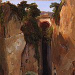 Metropolitan Museum: part 1 - Charles Rémond - Entrance to the Grotto of Posilipo