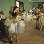 The Dance Class, Edgar Degas