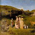 Young Ladies of the Village, Gustave Courbet
