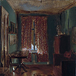 Metropolitan Museum: part 1 - Adolph Menzel - The Artist's Sitting Room in Ritterstrasse