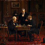 Metropolitan Museum: part 1 - Thomas Eakins - The Chess Players