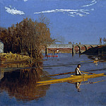 Metropolitan Museum: part 1 - Thomas Eakins - The Champion Single Sculls (Max Schmitt in a Single Scull)