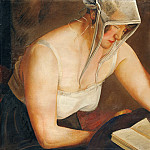 Metropolitan Museum: part 1 - Boris Grigoriev - Woman Reading