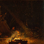 Camp Fire, Winslow Homer