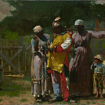 Metropolitan Museum: part 1 - Winslow Homer - Dressing for the Carnival