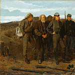 Metropolitan Museum: part 1 - Winslow Homer - Prisoners from the Front