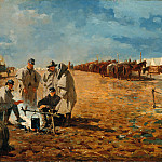 Metropolitan Museum: part 1 - Winslow Homer - Rainy Day in Camp
