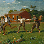 Metropolitan Museum: part 1 - Winslow Homer - Snap the Whip