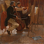 Metropolitan Museum: part 1 - Winslow Homer - The Studio