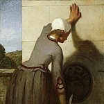Metropolitan Museum: part 1 - William Morris Hunt - Girl at the Fountain