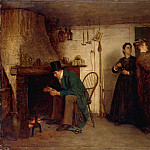 Eastman Johnson – The New Bonnet, Metropolitan Museum: part 1