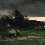 Metropolitan Museum: part 1 - William Keith - Approaching Storm