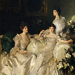 Metropolitan Museum: part 1 - John Singer Sargent - The Wyndham Sisters: Lady Elcho, Mrs. Adeane, and Mrs. Tennant