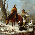 Jonathan K. Trego - Trappers, Metropolitan Museum: part 1