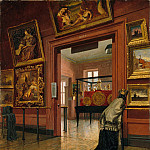 Metropolitan Museum: part 1 - Frank Waller - Interior View of the Metropolitan Museum of Art when in Fourteenth Street