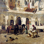 Metropolitan Museum: part 1 - Edwin Lord Weeks - The Rajah Starting on a Hunt