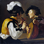 Metropolitan Museum: part 1 - Dutch Painter, 17th century ( ) - Two Musicians