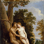 David Teniers the Younger - Adam and Eve in Paradise, Metropolitan Museum: part 1
