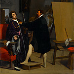 Metropolitan Museum: part 1 - Jean-Auguste-Dominique Ingres - Aretino in the Studio of Tintoretto