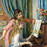 Metropolitan Museum: part 1 - Auguste Renoir - Two Young Girls at the Piano