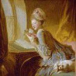 Fragonard, Jean Honore – The Love Letter, Metropolitan Museum: part 1