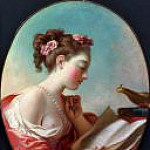 Metropolitan Museum: part 1 - Fragonard, Jean Honore - Young Woman Reading